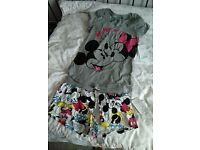 Ladies Disney Micky & Minnie Pyjamas