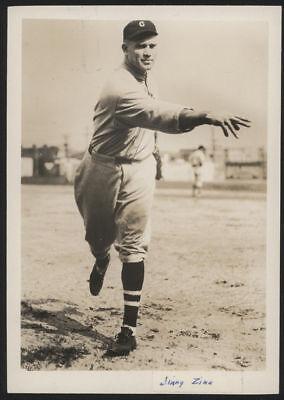 1929 Orig 1St Gen Press Photo   Jimmy Zinn  Indians