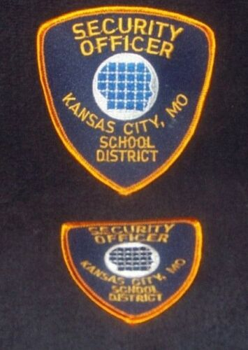 Kansas City School District Security Patch (Retired) Combo Large and Small Patch