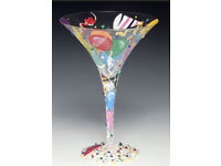 Lolita Martini/ Cocktail Glass- Celebrate