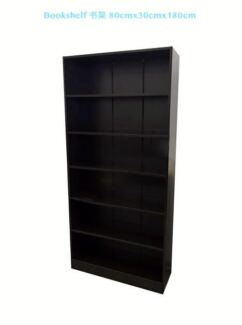 Brand New 6 Shelves MDF Book Shelves Book Shelf