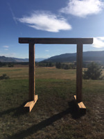 Selling a Handmade Beautifully Crafted Arch