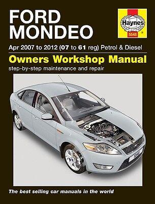 Haynes Ford Mondeo Petrol & Diesel 2007-2012 Manual NEW 5548