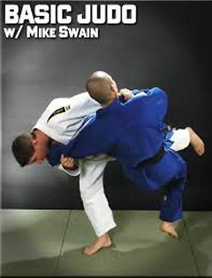 NEW! Mike Swain Basic Judo DVD Instructional - Gold Medal Productions -