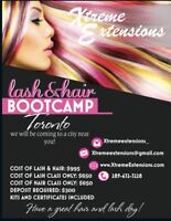 HAIR /  LASH EXTENSIONS TRAINING COURSE $650 MOBILE
