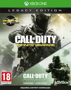 COD Infinite with Modern Warfare Remaster Xbox One