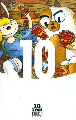 Adventure Time Fionna Cake Card Wars  1 Boom 10 Anniversary 1 10 Variant New