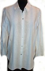 COLDWATER CREEK Linen Blouse - Small - NEW
