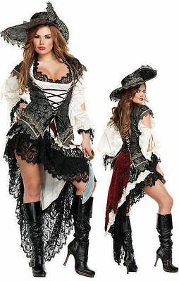 T2620  Sexy Starline Deluxe Hidden Treasure Pirate Dress Costume RT $209 X-Large](Hidden Treasure Pirate Costume)