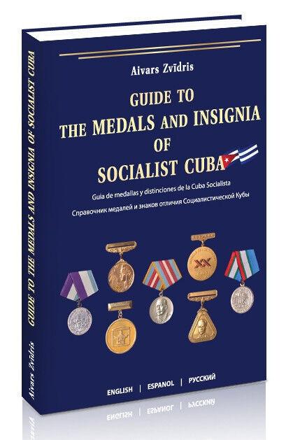 LAST COPIES! Cuba awards book: Guide to the medals insignia of Socialist Cuba