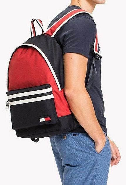 Tommy Hilfiger 2018 Corporate Backpack Laptop Tablet School Travel Bag Rucksack