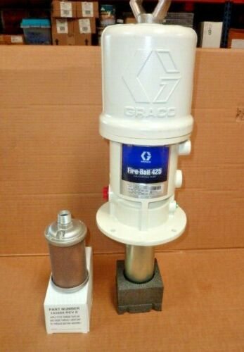 NEW Graco Fire-Ball 425 6:1 Air-Powered Grease Lubricant Pump E18D Series 238108