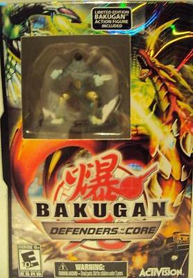 Nintendo Ds Bakugan Defenders Of The Core Includes Action Figure Ages 10+