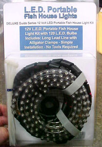 Best led portable ice fishing fish house fishhouse lights for Fish house lights