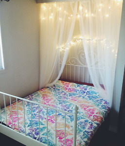 Ikea double bedframe and mattress for sale!