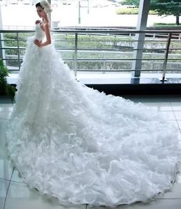 white-ivory-wedding-dress-Bridal-custom-size2-4-6-8-10-12-14-16-18-20-22