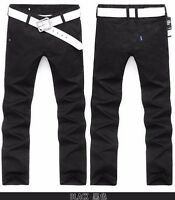 Brand New Fashion Skinny Pants Black Men Size 32 and 34