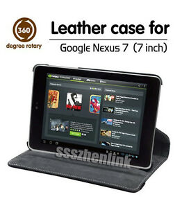 360-Rotating-Stand-Case-Wake-UP-PU-Leather-Cover-For-Google-Asus-Nexus-7