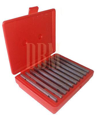 "10 Pairs 1/8"" Precision Mechanist Parallel Steel 20 PCS Set Thin Parallels"