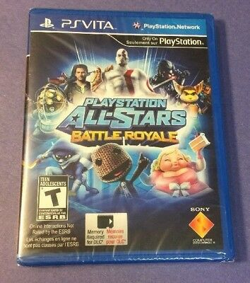 PlayStation All-Stars Battle Royale (PS VITA) NEW