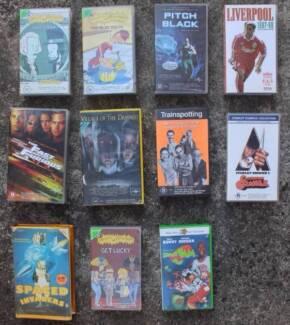 Free VHS - Space Jam, Village of the Damned, A Clockwork Orange Mosman Mosman Area Preview