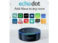 AMAZON Echo Dot with Alexa Voice Control - BRAND NEW