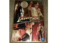 Indiana Jones Collection Dvds