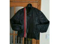 Motorcycle Leather Jacket FT