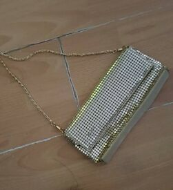 Avon gold handbag