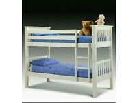 White Bunk bed free assembly and delivery
