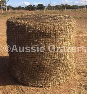 Aussie Grazers - Slow Feeding Hay Nets for Round Bales & Hay Bags Werribee Wyndham Area Preview
