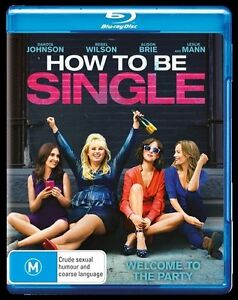 How To Be Single (Blu-ray, 2016) NEW