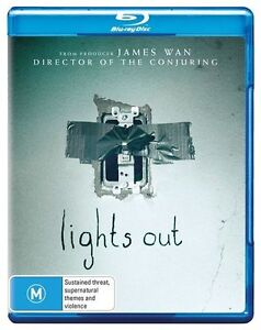 Lights Out (Blu-ray, 2016) NEW