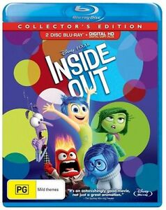 Inside Out (Collector's Edition) : NEW Blu-Ray