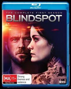Blindspot : Season 1 (Blu-ray, 2016, 4-Disc Set) New, ExRetail Stock (122)