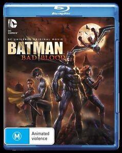 Batman - Bad Blood (Blu-ray, 2016) New & Sealed