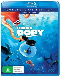Finding Dory (Blu-ray, Collector's Edition, 2-Disc Set) NEW
