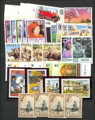Swaziland Scott 481 // J6a Mint NH sets (Catalog Value $68.35)