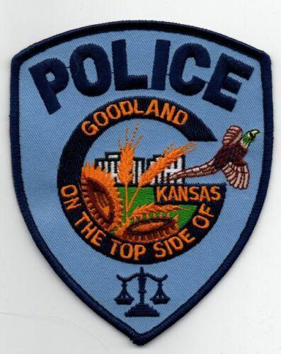 KANSAS KS GOODLAND POLICE NICE PATCH SHERIFF