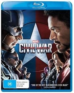 Captain America - Civil War (Blu-ray, 2016)