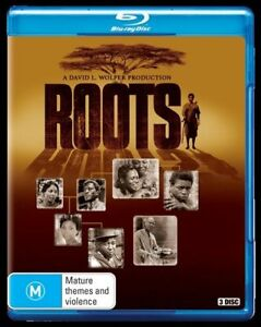 Roots (Blu-ray, 3-Disc Set) NEW