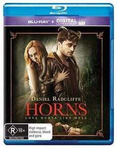 Horns (Blu-ray, 2015)  New, ExRetail Stock, Genuine & unSealed  - D83