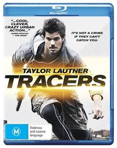 TRACERS - BLU RAY..TAYLOR LAUTNER...FREE DELIVERY..NEW & SEALED   dvd1524