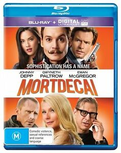 Mortdecai : NEW Blu-Ray