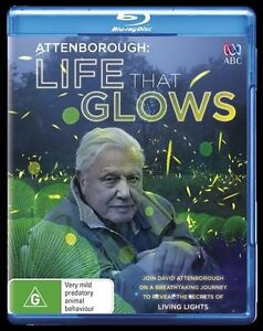 David Attenborough - Life That Glows : NEW Blu-Ray