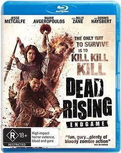 Dead Rising - Endgame (Blu-ray, 2016) NEW