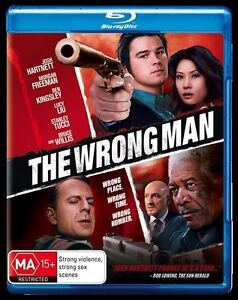 The Wrong Man (Blu-ray, 2014) New, ExRetail Stock (D146)