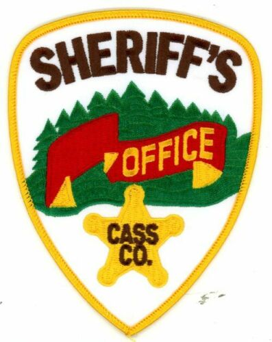 CASS COUNTY SHERIFF MINNESOTA MN NEW PATCH POLICE
