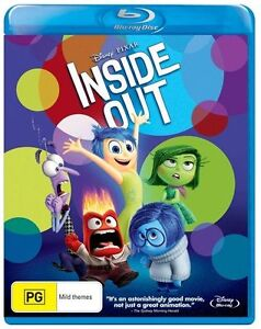Inside Out (Blu-ray, 2015) NEW