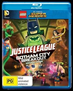 LEGO - Justice League - Gotham City Breakout (Blu-ray, 2016) (D138)